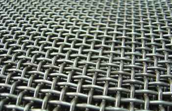 Stainless Steel Crimped Wire Mesh As Wedge Wire Or Shale