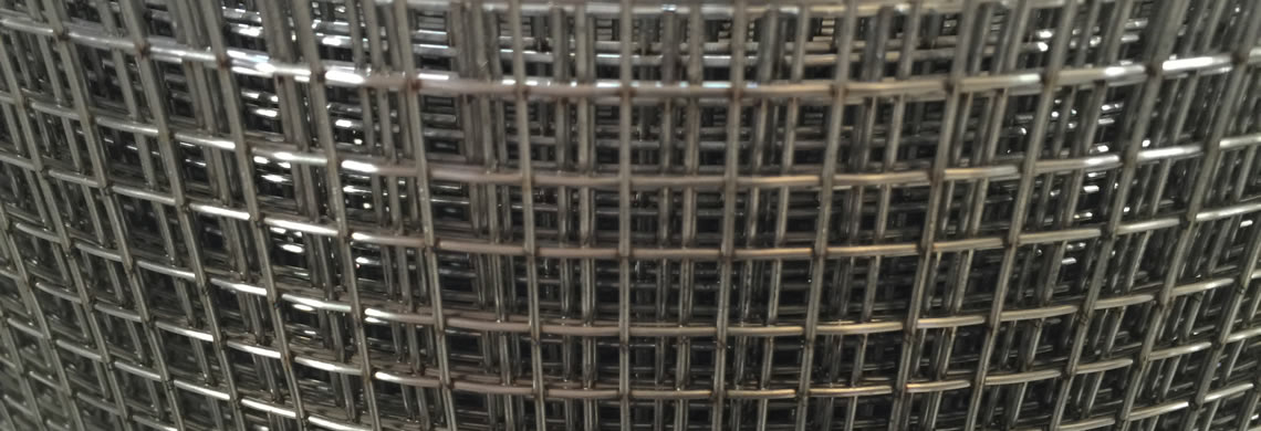 A roll of stainless steel welded wire mesh with well welded point